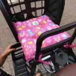 自転車と子供のせを購入