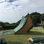 御座白浜でキャンプ~3日目(最終日)~