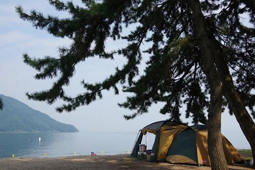 ない オート キャンプ 浜 場 ち
